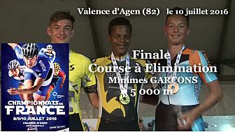 Lucas GOURNAY Champion de France RollerPiste 2016 au MG 5000m Elimination @FFRollerSports #TvLocale_fr #TarnEtGaronne @Occitanie