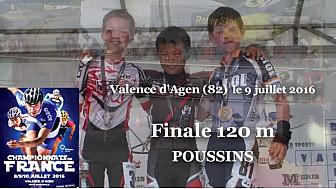 Quentin POUJOL Champion de France Poussin en Roller Piste 2016 au 120m  @FFRollerSports #TvLocale_fr #TarnEtGaronne @Occitanie