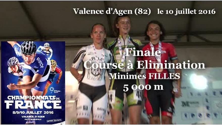 Alison BERNARDI Championne de France RollerPiste 2016 au MF 5000m Elimination @FFRollerSports #TvLocale_fr #TarnEtGaronne @Occitanie