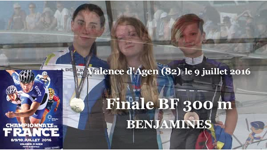 Julia NIZAN Championne de France Roller Piste 2016 au 300m Vtesse @FFRollerSports #TvLocale_fr #TarnEtGaronne @Occitanie