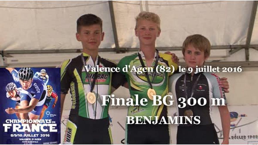 Raphael SYLVAIN Champion de France Benjamin en RollerPiste 2016 au 300m Vitesse @FFRollerSports #TvLocale_fr #TarnEtGaronne @Occitanie